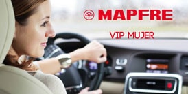 Mapfre seguros vehiculares VIP mujer